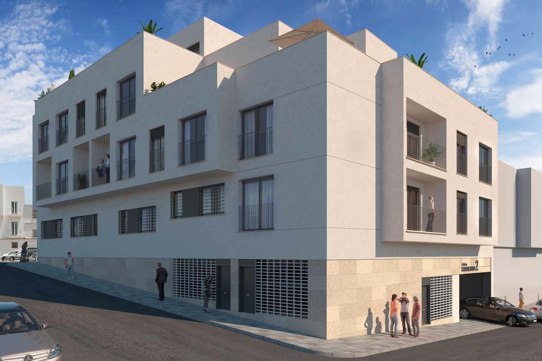 Edificio Convento 2 (Tarifa - Cádiz)