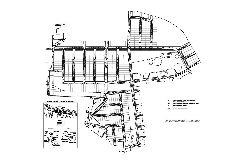 """Proyecto de Urbanizacion Parcial UR-1 """"Las Carrascosas"""" (Lebrija - Sevilla)"""